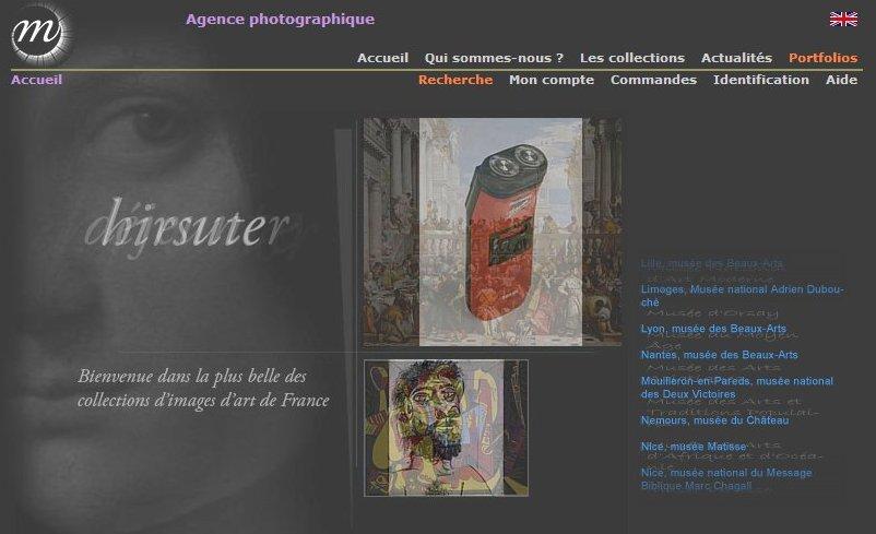 Catalogue de l'agence photographique de la Réunion des musées nationaux