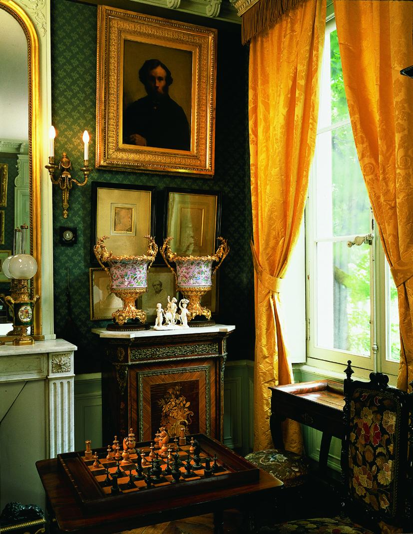 Vue de la chambre à coucher de Gustave Moreau