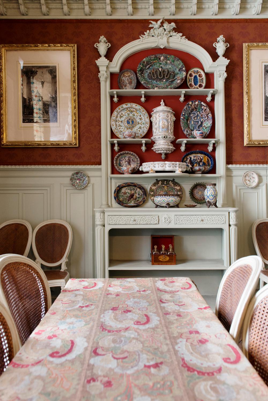 Vue de la Salle à manger de Gustave Moreau