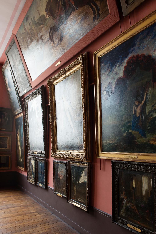 Vue de l'atelier de Gustave Moreau