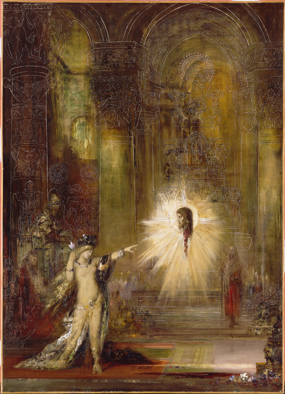 """L'Apparition"" par Gustave Moreau"