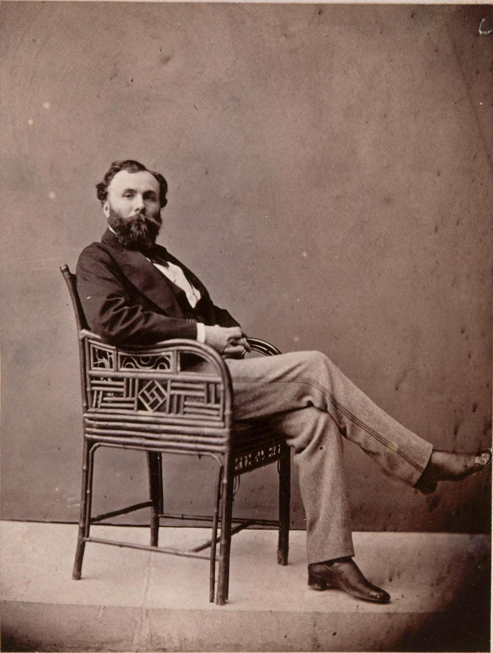 Portrait photographique de Gustave Moreau
