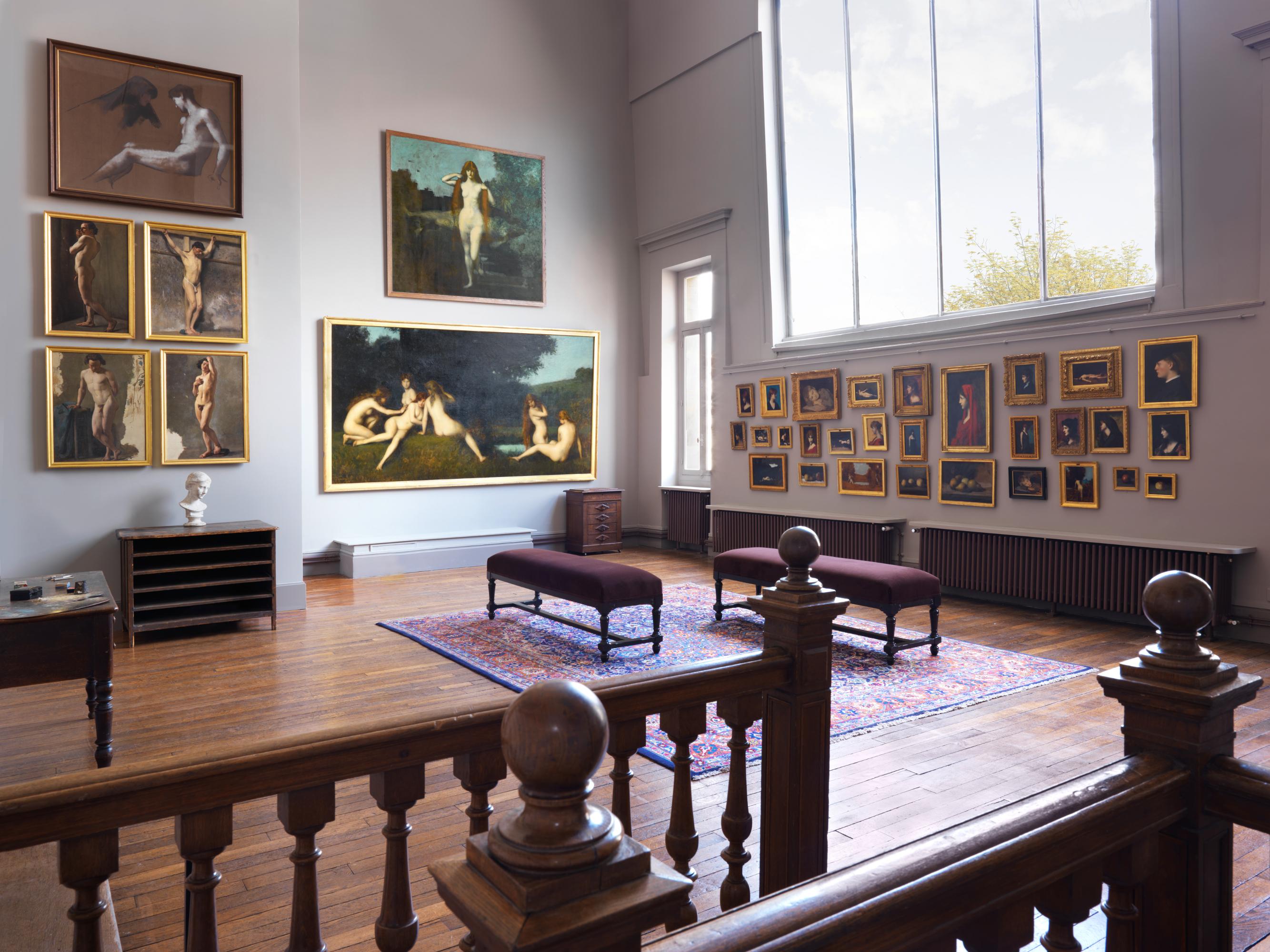 L'atelier gris du musée Jean-Jacques Henner
